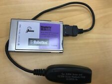 US Robotics 33.6K Megahertz PCMCIA Modem/Ethernet (XJEM3336) with LAN Adapter