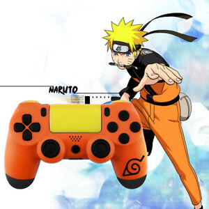 Naruto Custom Case PS4 Slim Pro Controller Shell Case Housing Mod Kit Buttons