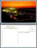 CALIFORNIA Postcard - San Diego, Mission Valley at Night O5