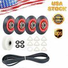 4392067 Dryer Repair Kit For Whirlpool Maytag Kenmore Crosley Roller Belt Pulley photo