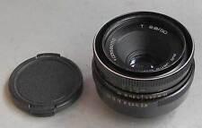 Tessar 2.8/50mm aus Jena German Auto lens for M42 Zenit Pentax M Praktica - EXC!