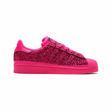 Adidas Women's Superstar W 'Out Loud Pack' BD8054 Shock Pink Purple SZ 5-10 DS