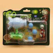 PVC Plants VS Zombies Peashooter Model Toys for Children Home Decoration