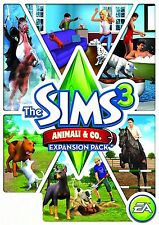 THE SIMS 3: ANIMALI & CO EXPANSION PACK - Origin chiave key - ITALIANO - ROW