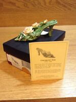 Raine Just the Right Shoe COA Box Courageous Rose 25124