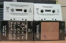 """Led Zeppelin 2 Cassette Tapes """"Physical Graffiti"""" & """"In Through The Out Door"""""""