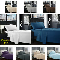 Egyptian Comfort 1800 Count 4 Piece Deep Pocket Hotel Luxury Bed Sheet Set 6H