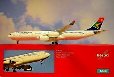 Herpa Wings 1:500 Airbus A340-300  South African ZS-SXF  530712 Modellairport500