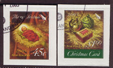 NEW ZEALAND 2005 CHRISTMAS SELF ADHESIVE FINE USED