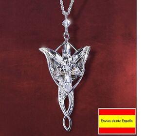 Colgante Arwen Estrella del Atardecer EL SEÑOR DE LOS ANILLOS + Collar