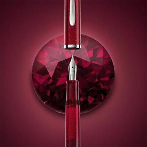 New M205 Pelican Classic Starbee Fountain Pen Ruby Extra Fine F/S from Japan
