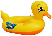 Inflatable Rubber Duck Pool Float for Kids/baby, Swimming Pool Floats Boat Seats