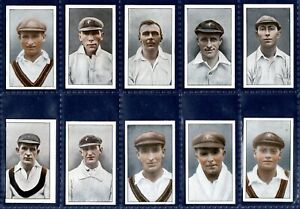 Phillips 1926 FAMOUS CRICKETERS - Part Set 19/32