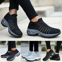 ️ Women's Air Cushion Trainers Mesh Running Sneakers Breathable Athletic Shoes