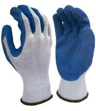 Safety Gloves 10 Gauge Gray Cotton Polyester, Latex Palm Coated SZ XL #06-019