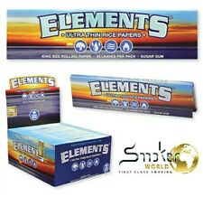 1 x  BOX ELEMENTS®  King Size Slim •ULTRA THIN RICE PAPERS•