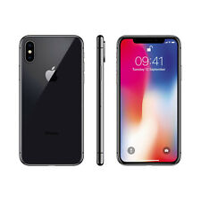 New Apple iPhone X 256GB Factory Unlocked - Space Grey - 1 Year Apple Warranty