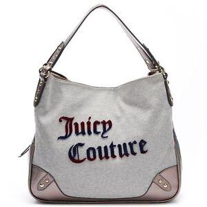 Juicy Couture Shopper Jennifer logo Shoulder-Tote Glitter Pink Lips New Tags
