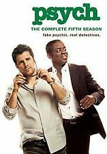 PSYCH: THE COMPLETE FIFTH SEASON 5 - BRAND NEW & SEALED R1 DVD BOX SET (4-DISC)