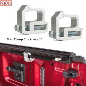 2×Truck Cap Topper Camper Shell Mounting Clamps Designed For Mounting Truck Cap