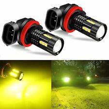 JDM ASTAR 2x 3030 H11 H8 High Power 3000K Yellow LED Fog Driving Light Bulbs 12V