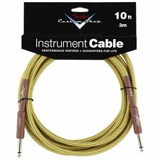 Genuine Fender Custom Shop Tweed Guitar Cable - 10foot (3meters)