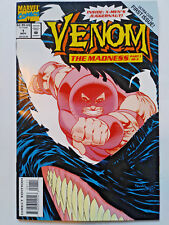 VENOM THE MADNESS #1 1994 Raised Cover VF/NM