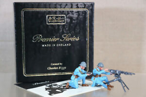 Britains 8939 1ère GM Français Machine Pistolet Section & Hotchkiss 8mm NZ