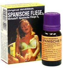 Spanish Fly Drops 10 ml Quality Aphrodisiac Inverma Added to a Drink- 100% Seal
