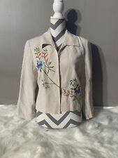 Merce & Madison Size 14 Open Front Bohemian Blazer Length 20""