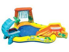 Juguete Tobogán Piscina Acuático Hinchable Dino Bebé Bebés Peque Peques Inflable
