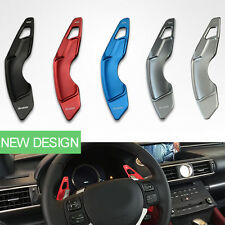 2pc Aluminum Steering Wheel Shift Paddles Shifter Extension for Lexus NX200t /RC