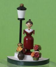 """Original Erzgebirge Flade Miniatur Blumenfrau """"Rarität"""""""
