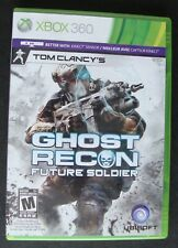 TOM CLANCY'S GHOST RECON FUTURE SOLDIER XBOX 360 MICROSOFT VIDEO GAME