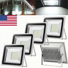 5X 100W Watt LED SMD Flood light Cool White Outdoor Garden Spotlight 110V Lamp