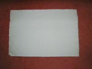 Vintage large White sheet of COTMAN Handmade Artist's water colouring paper