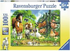 Ravensburger Animal Get Together 100pc XXL Puzzle 10689