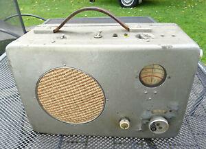 Wehrmacht 2.WK ww2 Radione Rundfunkempfänger R3 Marine Röhren-Radio