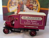 Lledo Promotional Model: H. SAMUEL 1926 Dennis Delivery Van (Red) - New in Box