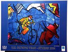 Athens 2004 Poster  U.S. Olympic Team - Maestro Cristobal Gabarron Official USOC