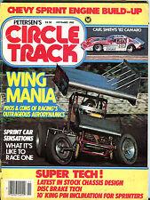 Petersen's Circle Track Magazine November 1982 Wing Mania GD 060716jhe