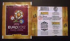 "BUSTINA PACKET PACK PANINI EURO 2012 BRASILE ""CONTEM 5 CROMOS"""