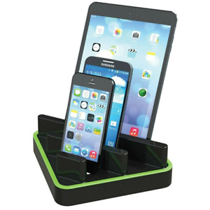 NEW Esselte Smart Caddy Desk Organiser iPad/Phone Stand Holder for Charging