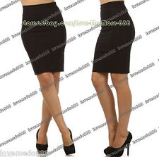 Womens Casual Wear Work Tight Fitted SHIFT Pencil Wiggle TUNIC SkirtS DRESS (XL)