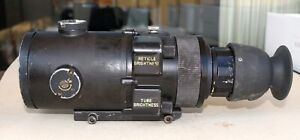 AN/PVS-4 Starlight Night Vision Sight Scope NVS-700 & Harder Digital HD1400 TUBE