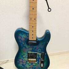 Fender blue flower Japan vintage popular electric guitar beautiful EMS F / S!