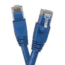 75'Ft LAN Net Cat6a RJ45 Ethernet Network Cable Cord 10 Gigabit Copper Blue