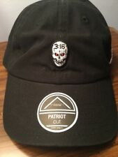 WWE Stone Cold Smoking Skull Face Strapback Hat. Brand New. One Size Fits All