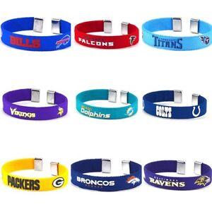 Officially Licensed Team Color Fan Band Ribbon Bracelet - Choose Your Team
