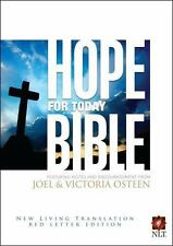 Hope for Today Bible by Joel Osteen (2009, Hardcover)